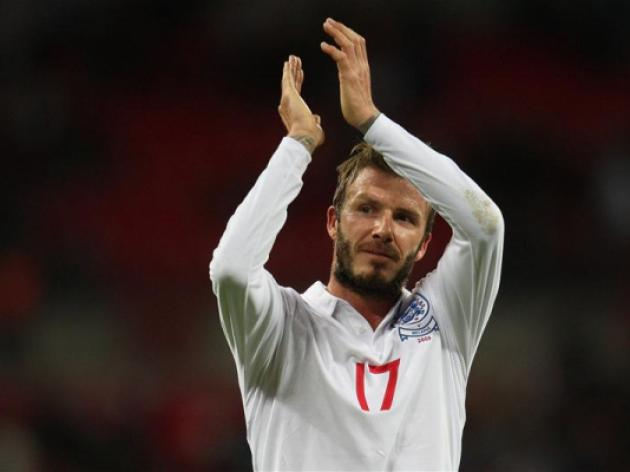 Beckham ready to fight for a place in England's World Cup squad