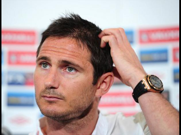 Lampard to miss Euro 2012