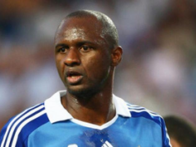 Vieira accepts World Cup omission