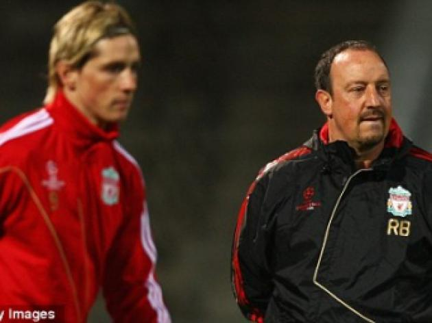 Benitez insists Torres and Benayoun will not be rushed back from injury