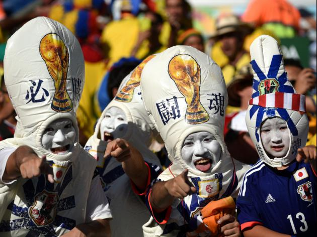Japan fans drown sorrows after World Cup exit