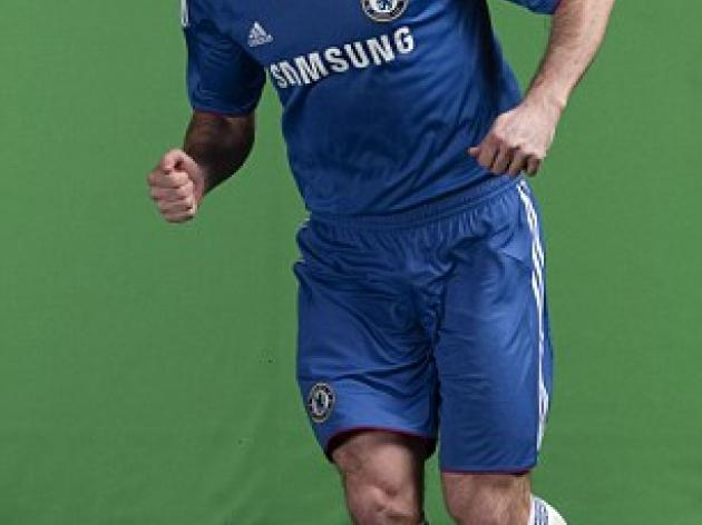 Chelsea launch new kit with red trim
