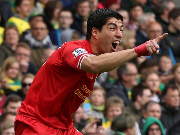 Suarez wins PFA Player of the Year award