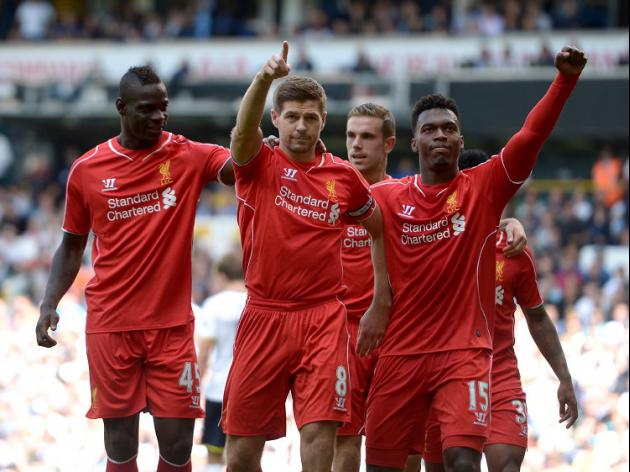 Impressive Liverpool ease past Spurs