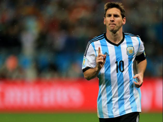 Messi on target to match Maradona