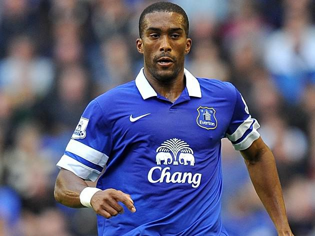 Distin back in training