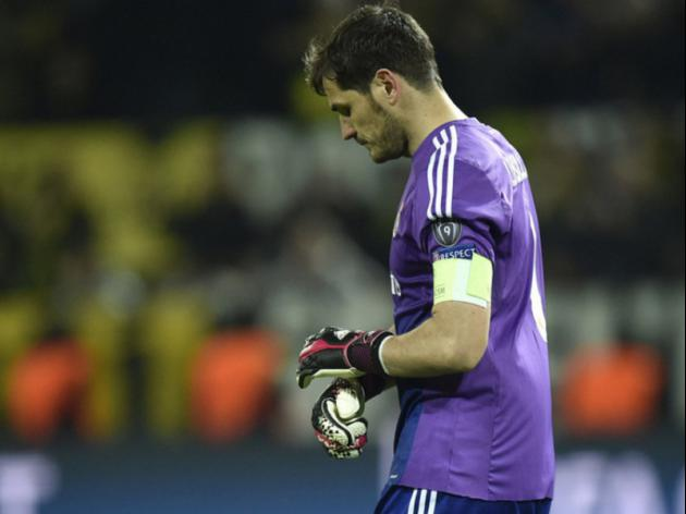 Dortmund defeats a Real wake-up call: Casillas