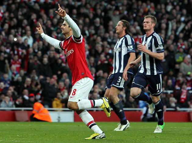 Arsenal 2-0 West Brom: Match Report