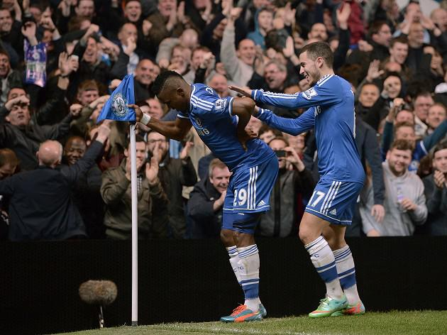 Vint-age Eto'o stars for Chelsea in Spurs rout