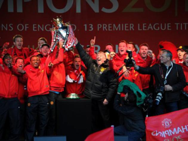 Youve topped Treble party Ferguson tells United fans