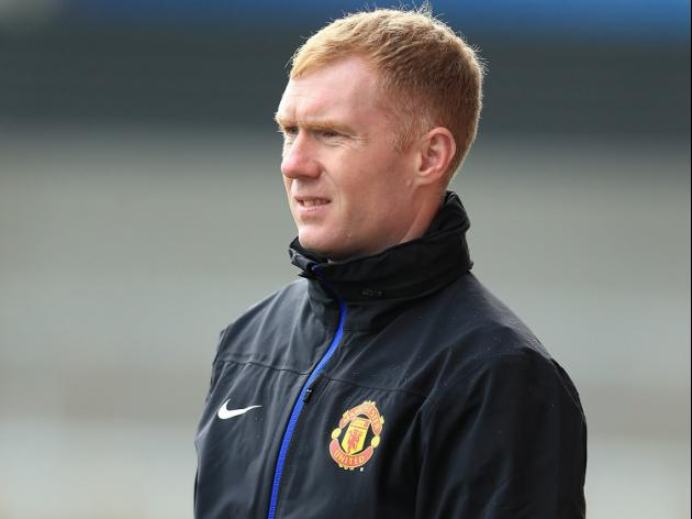 Scholes to assist Giggs at United