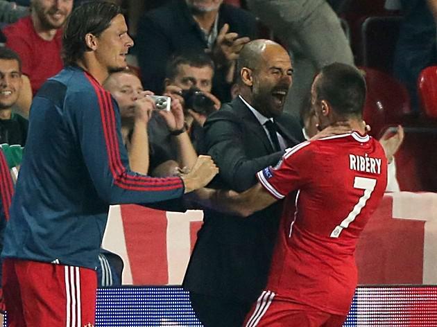 Pep lauds Bayern's winning habit