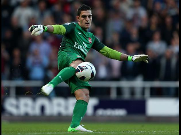 Mannone staying with Gunners
