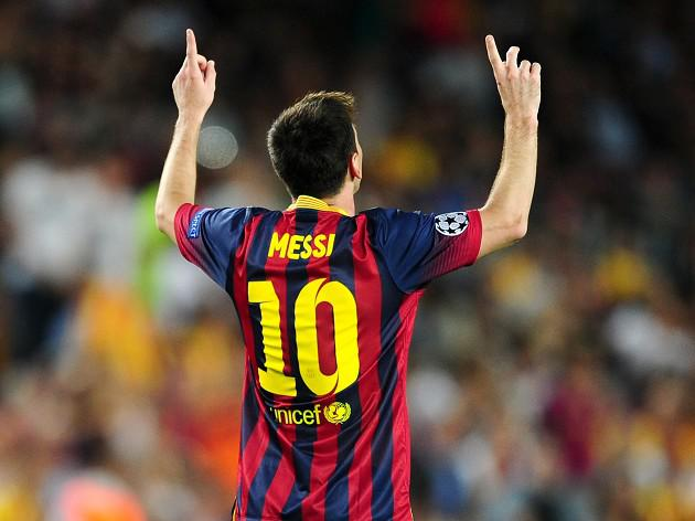 Messi claims third Golden Shoe