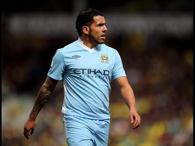 Mancini impressed by Tevez