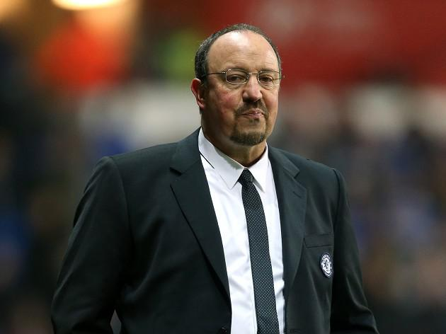 Benitez stands by Chelsea team selection