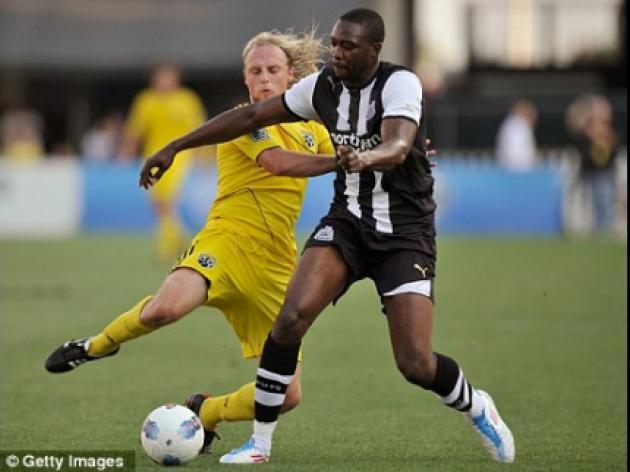 Shola Ameobi signs Newcastle deal until 2014