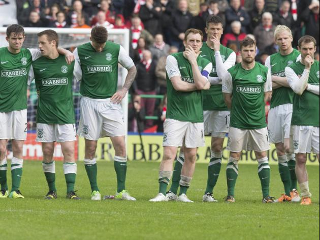 Petrie apologises to Hibs fans