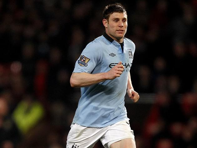 Manchester City's James Milner hopes to shake off injury