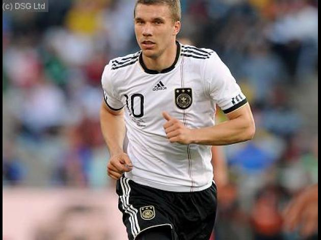Podolski slams bosses at relegated Cologne
