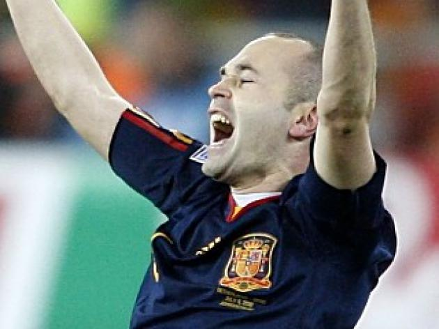 Iniesta - We deserved to triumph