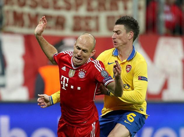 Wenger labels Robben a 'diver'
