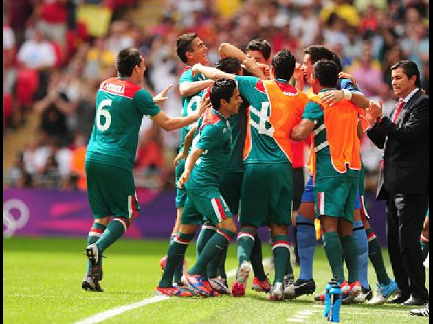 Mexico beat Brazil to win football gold