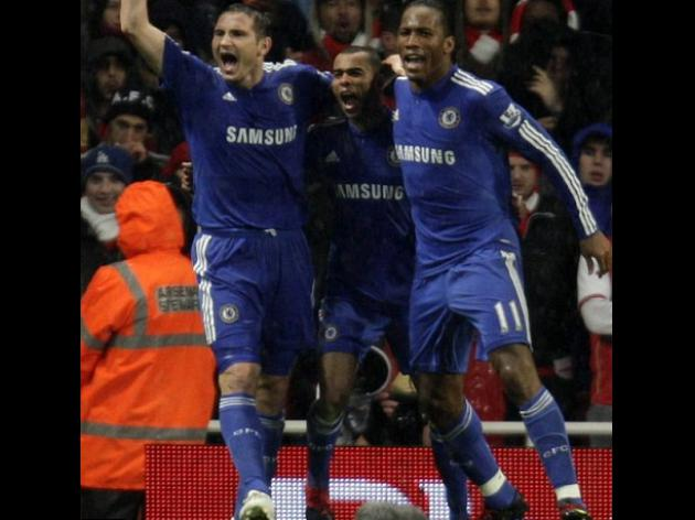Chelsea star Lampard salutes Blues brothers Cole, Anelka and Drogba