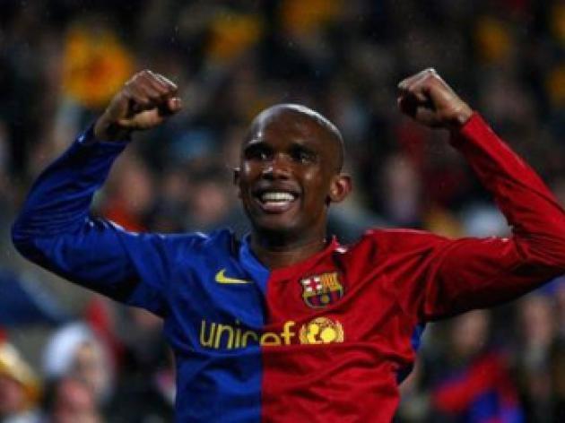Samuel Eto'o hopeful of making  18 million Manchester United move