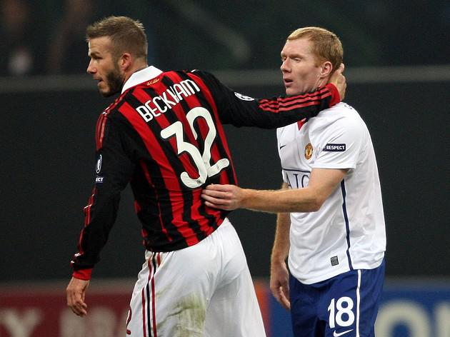 Manchester United's Paul Scholes sad to see Beckham quit