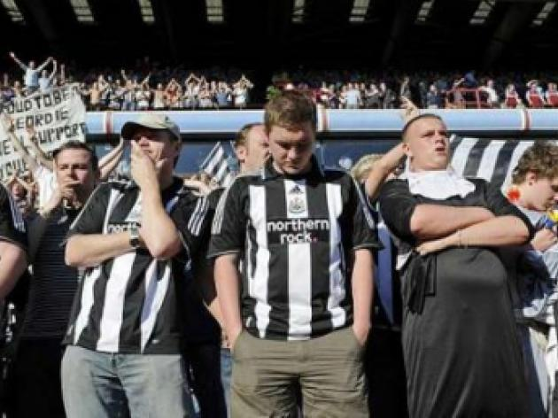 Newcastle's Derek Llambias feels sympathy for owner Mike Ashley