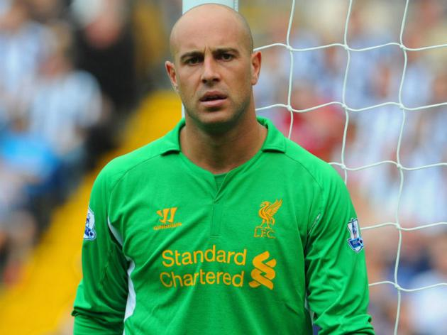 Reina has Liverpool future, says Rodgers