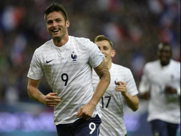 Giroud says hes the man for the job for France