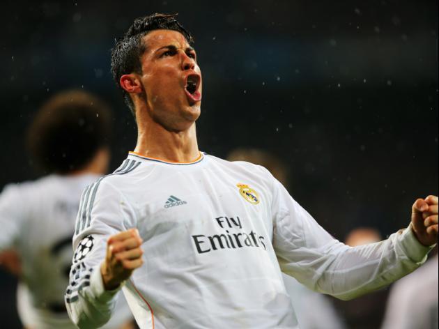 Ronaldo equals record as Real and PSG win
