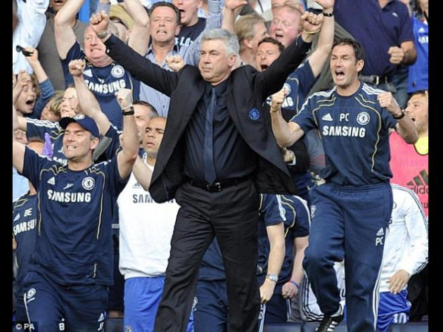 Chelsea boss Carlo Ancelotti urges squad to win title