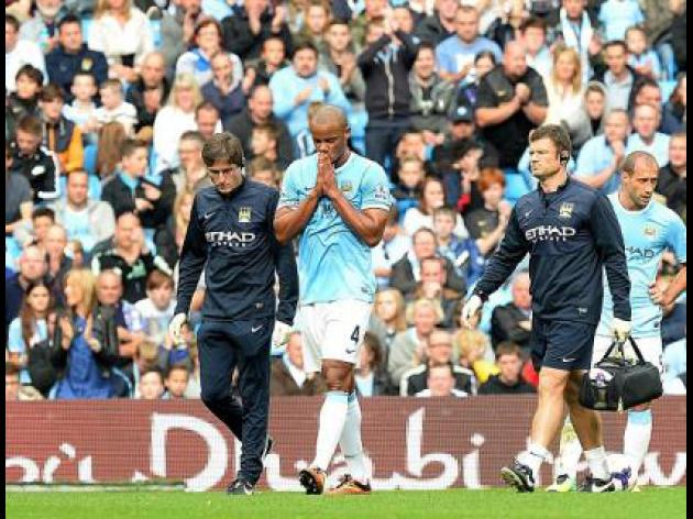 Kompany does not travel for CSKA tie