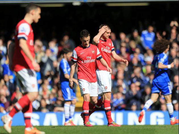 Arsenal Fans Backlash After Chelsea Thrashing