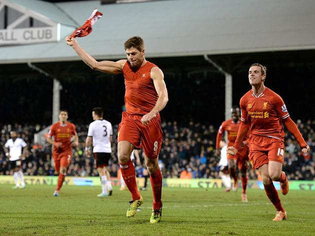 Gerrard enjoys 'dark horses' tag