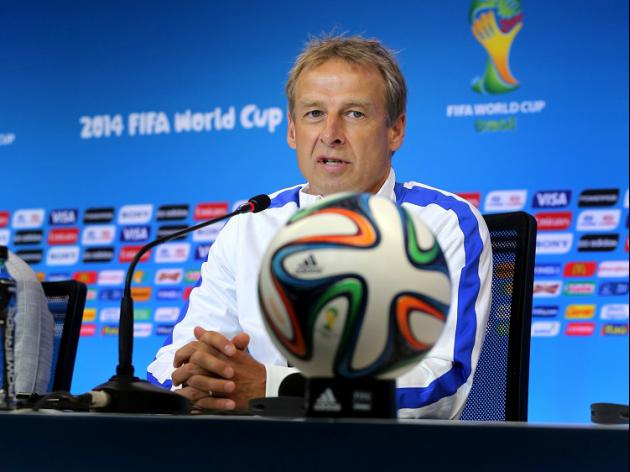 Klinsmann questions referee choice