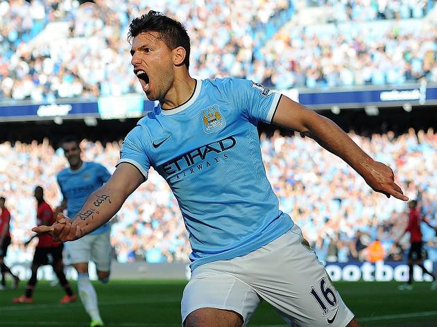 Aguero to miss Villa clash