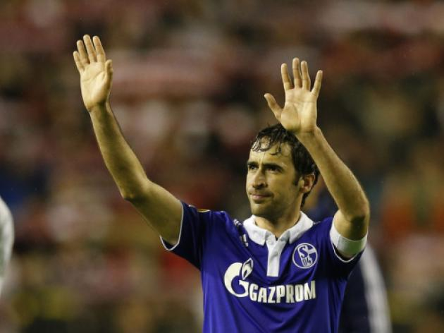Raul to quit Schalke at season's end