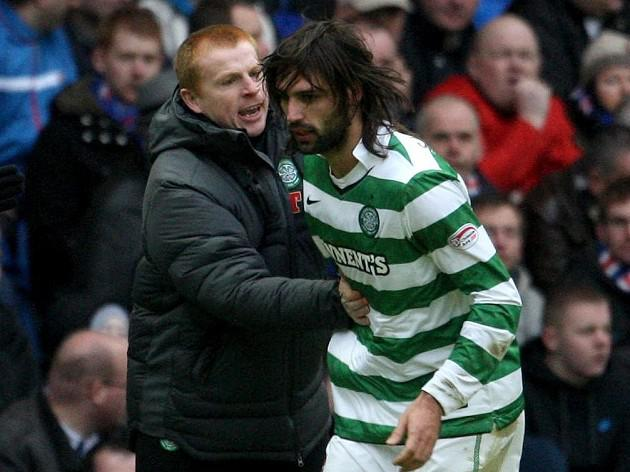 Samaras not surprised Celtic boss Lennon linked with Everton job