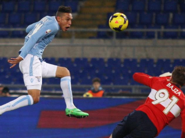 Perea double sees Lazio into Cup quarters