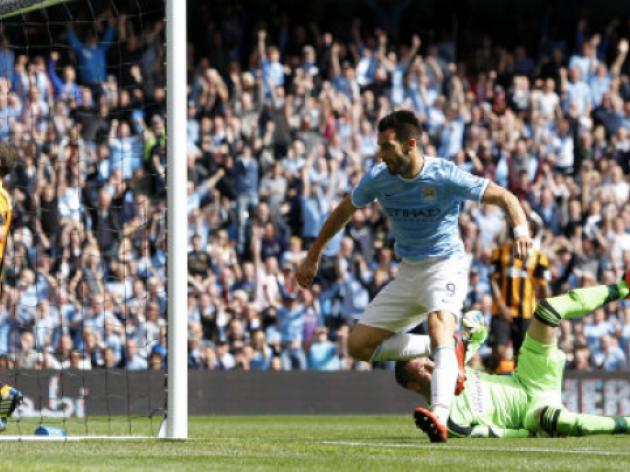Man City 5-0 Wigan: Match Report