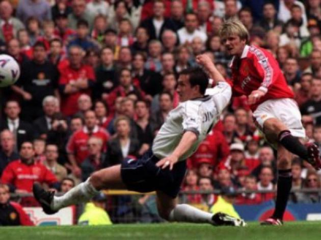 Top 10: Title deciding games - 7 - Manchester United v Tottenham - 1999