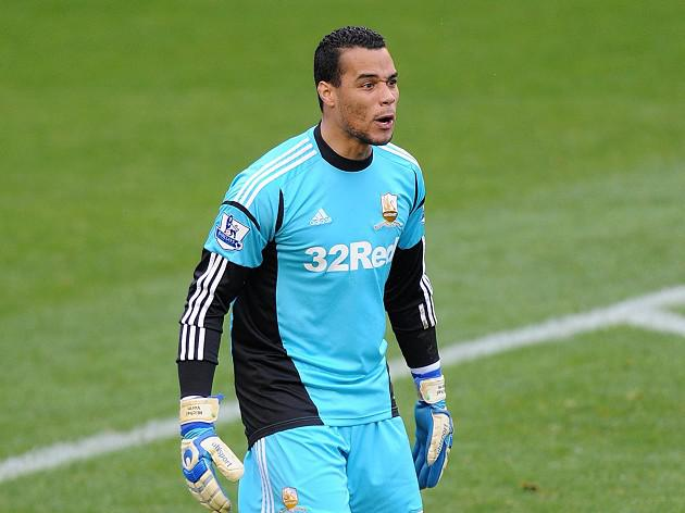 Swansea City goalkeeper Michel Vorm dismisses Liverpool talk