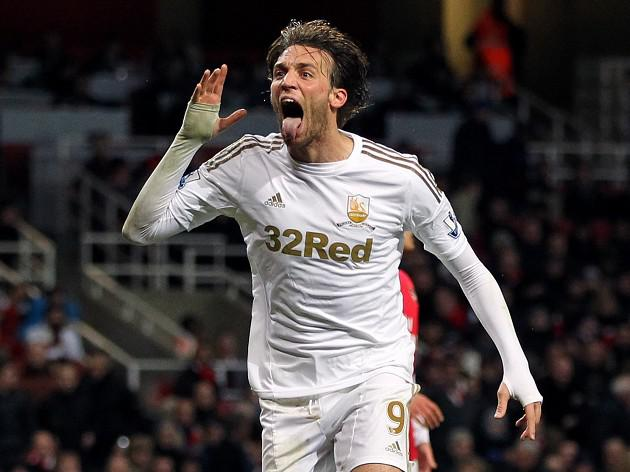 Swansea boss Michael Laudrup waiting on Michu fitness