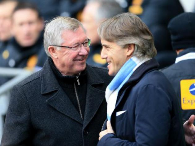 An honour to compete with Fergie - Mancini