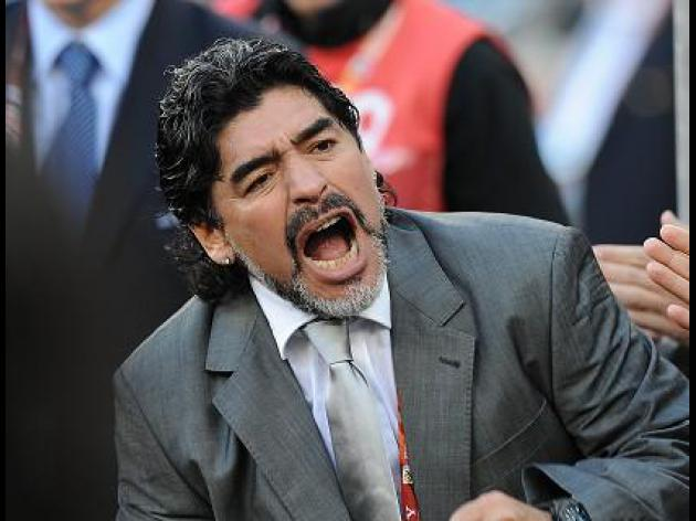 Maradona to leave Argentina
