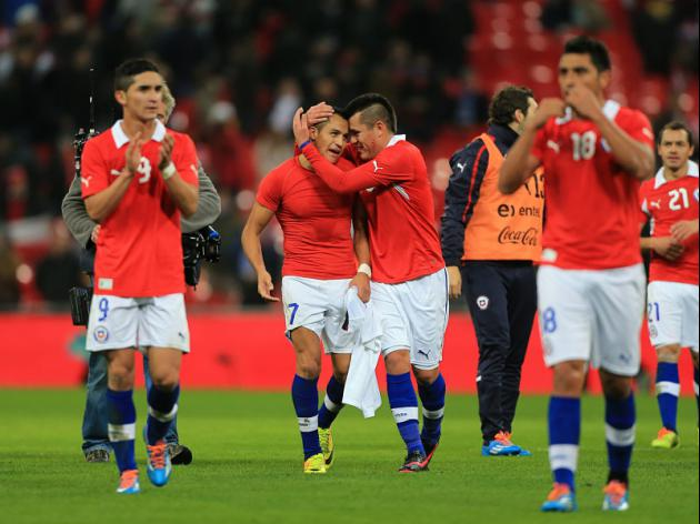 Chile out to spoil stars party